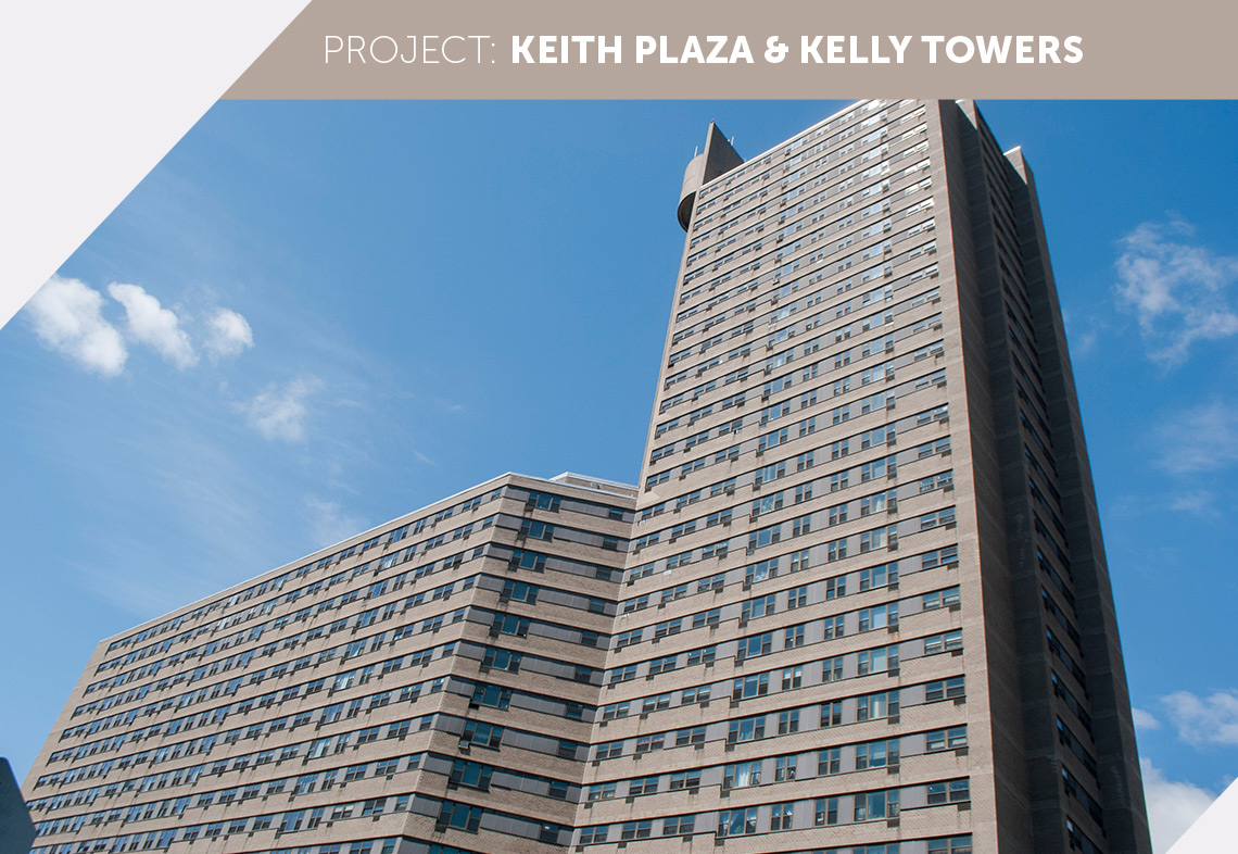 Keith Plaza and Kelly Towers